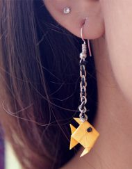 ORIGAMI FISH EARRINGS (2)