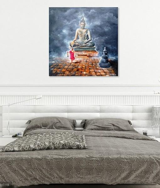 BUDDHA AND MONK CHILD 5 (2)
