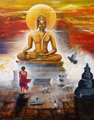36. BUDDHA AND MONK CHILD 02