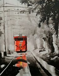 KOLKATA CITY SCAPE - TRAM THROUGH NATURE 2