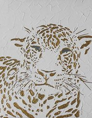 LEOPARD WITH TEXTURE