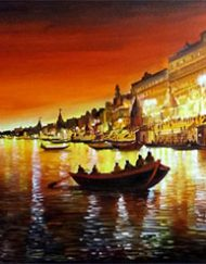 BEAUTY OF NIGHT VARANASI GHAT