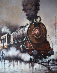 NOSTALGIA OF INDIAN STEAM LOCOMOTIVES 37