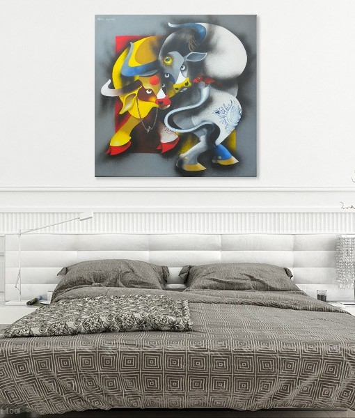 BULL AND COW (2)