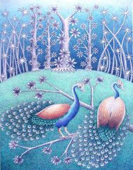 PEACOCKS COUPLE 01