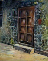 WAITING TO OPEN THE DOOR