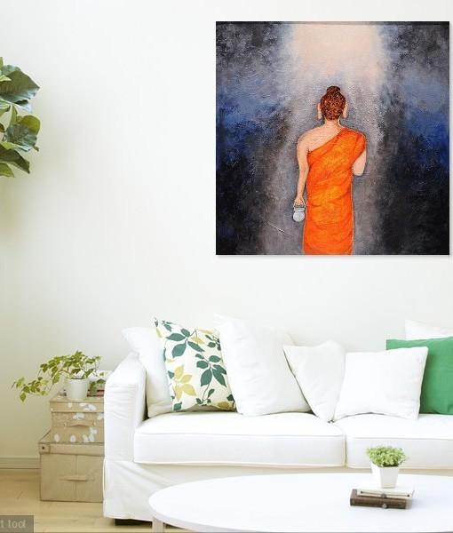 BUDDHA TO THE LIGHT OF NIRVANA (1)