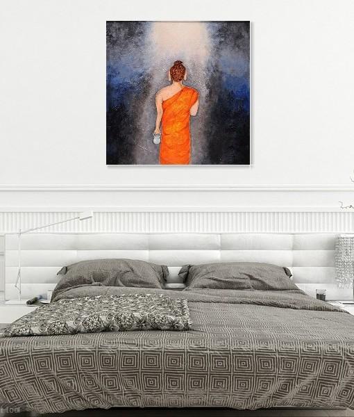 BUDDHA TO THE LIGHT OF NIRVANA (2)