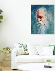 POTRAIT OF RABINDRONATH TAGORE 01 (1)