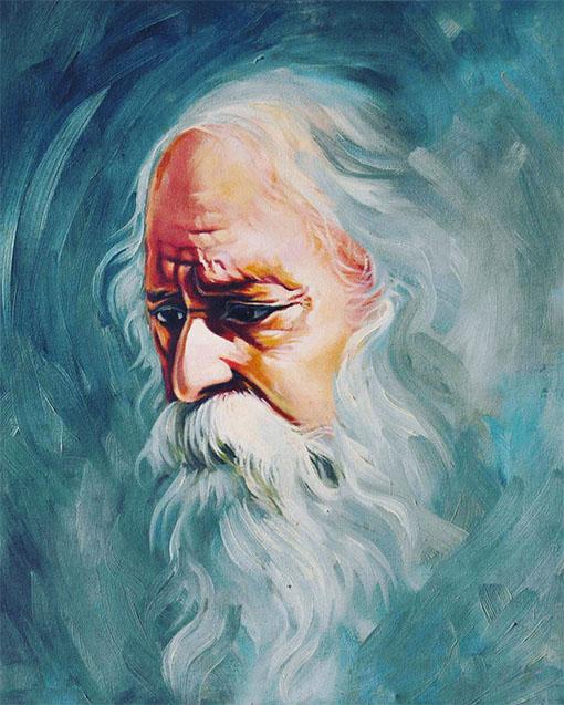 Portrait Of Rabindranath Tagore 01 Artvault