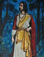 POTRAIT OF RABINDRONATH TAGORE 03