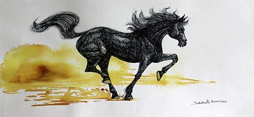 GALLOPING HORSE 08