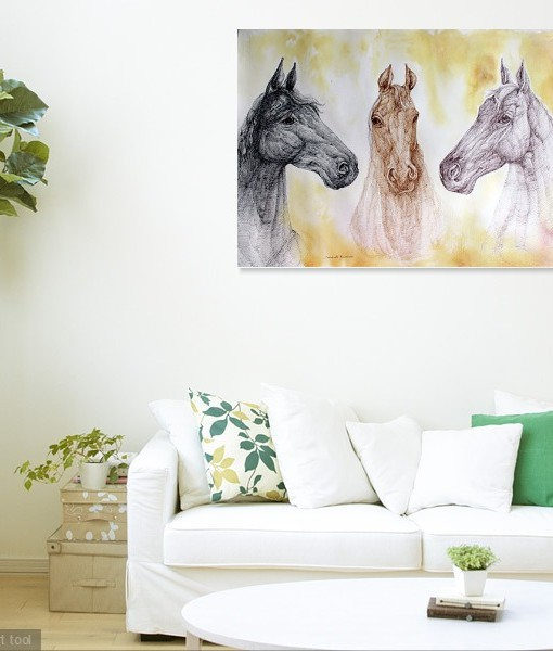 THREE HORSES (1)