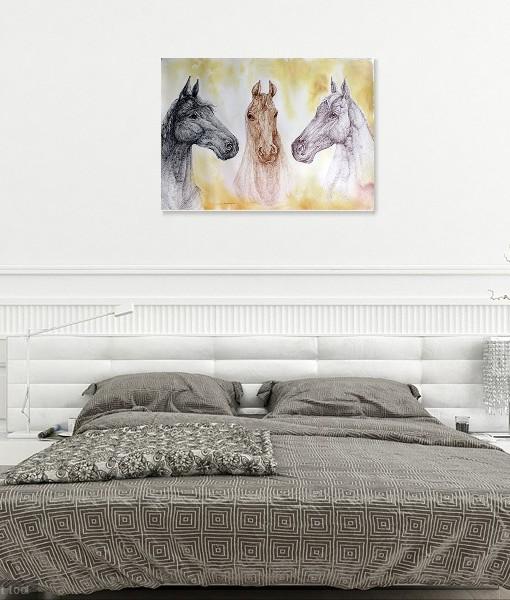 THREE HORSES (2)
