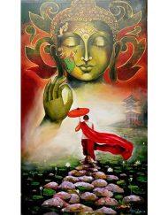 BUDDHA AND MONK 06