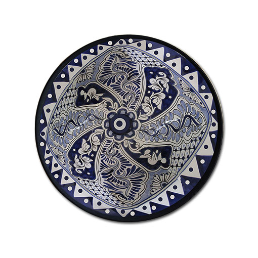 HAND PAINTED TURKISH WALL PLATE 071 - ArtVault