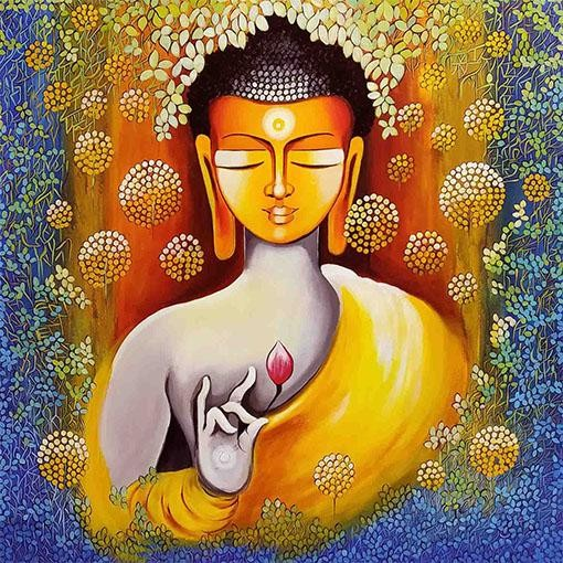 BUDDHA - PEACE BEGINS WITH SELFLOVE