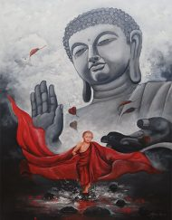 BUDDHA AND MONK 10